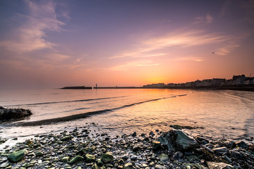 Sunrise at Donaghadee