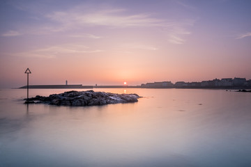 Sunrise at Donaghadee