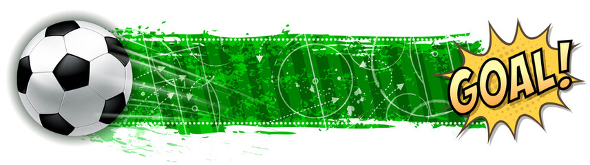 soccer success banner