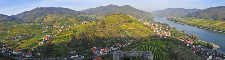 wineyards near sputz, wachau, lower austria Wall mural