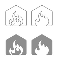 house flame icon