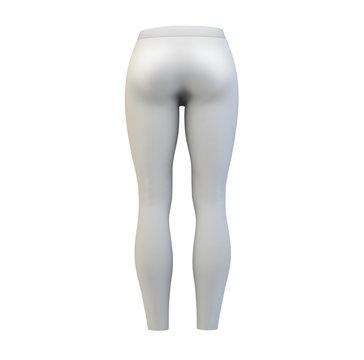 women leggins mockup