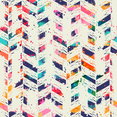Template seamless geometric abstract pattern. Can be used on packaging paper, fabric, background for different images, etc.