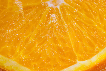 orange fruit close-up macro Wall mural