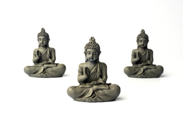 Сoncentration of mind. Yoga concept. Lotus pose. Zen meditation background. Relax minimal concept. Copy space.