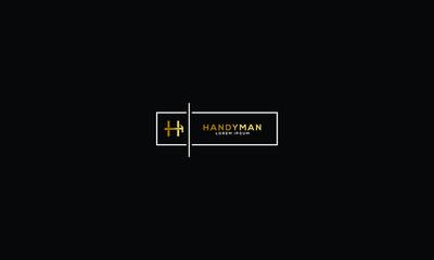 HANDYMAN LOGO FOR LOGO DESIGN OR ILLUSTRATION USE