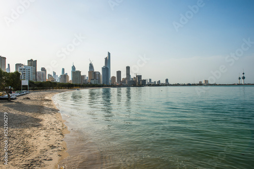 Arabia, Kuwait, Kuwait City, beach