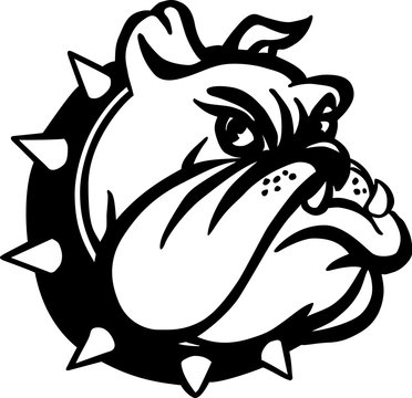 Bulldog Cartoon Vector Illustration