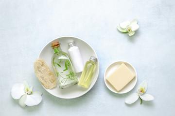 Spa and bath natural cosmetics