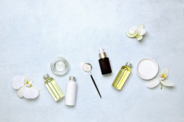 Spa treatment natural cosmetic ingredients