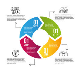 infographic data information business plan