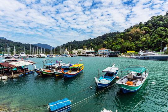 Malaysia, Pulau Langkawi, Harbour