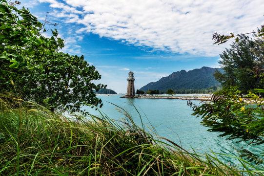 Malaysia, Pulau Langkawi, Light house