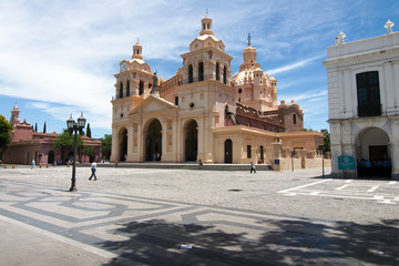 The Cathedral of Córdoba (Our Lady of the Assumption) is the oldest church in continuous service in Argentina. Cordoba, Argentina.