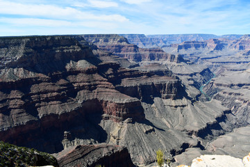 grand canyon views late afternoon