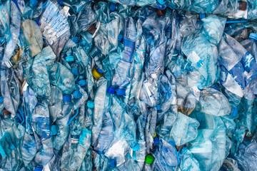 bottle pet plastic prepare to recycle Fotomurales