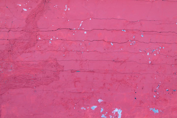 cracked bare wall