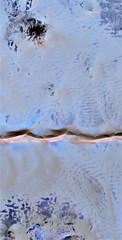 vertical abstract photography of the deserts of Africa from the air, aerial view, abstract expressionism, contemporary photographic art, abstract naturalism,