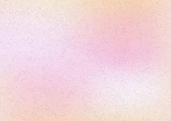 ピンク色の水彩絵具イメージ背景素材-和紙テクスチャ