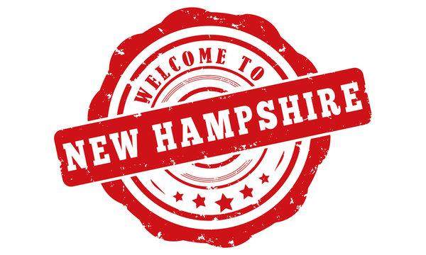 siegel vector US Bundesstaat New Hampshire