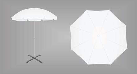 Obraz Sun umbrella. vector illustration - fototapety do salonu