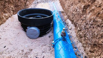 tuyau d'alimentation d'eau potable
