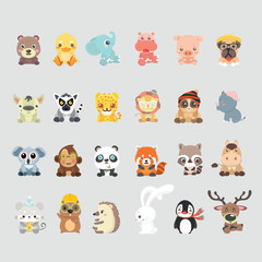 Cute animal collection..