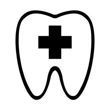 歯医者のマーク