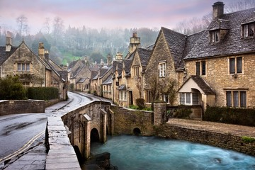 Castle Combe, England Wall mural