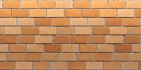 Brick wall texture. 3d render