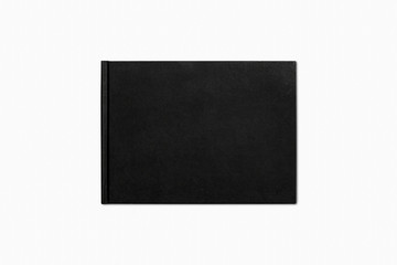 Notebook on a white background, Notepad. 3D rendering.