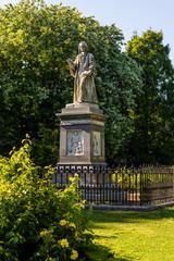 Isaac Watts Monument, Watts Park, Andrews East Park, Southampton, Hampshire, England, UK