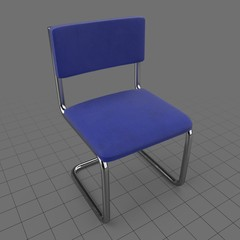 Tubular frame chair