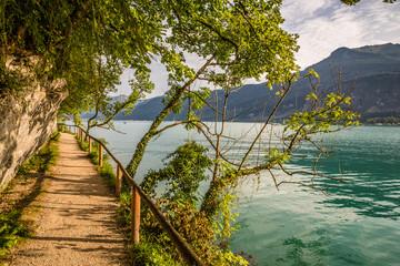Path Around Lake Wolfgang, Salzkammergut, Austria