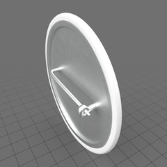 Blank campaign button