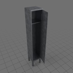 Open locker