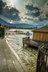Lake Wolfgang (Wolfgangsee)- Salzkammergut,Austria