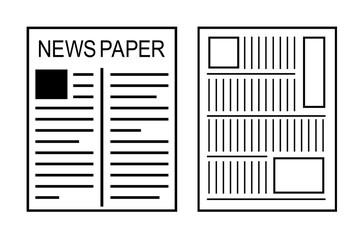 日本の新聞と英字新聞