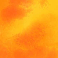 abstract yellow and orange watercolor texture background