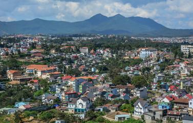 Aerial view of Dalat, Vietnam