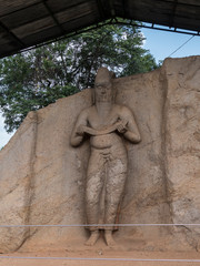 Statue at Polonnaruwa