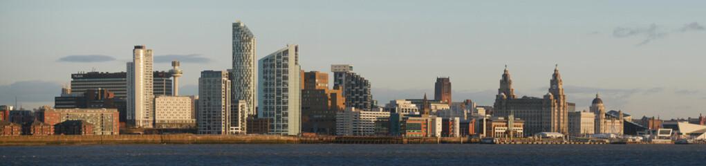 Liverpool Waterfront Panorama Fototapete
