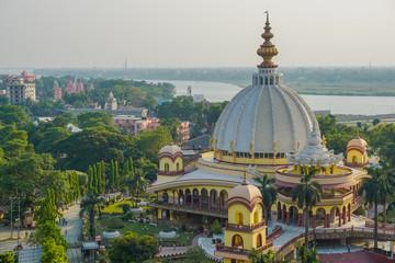 Srila Prabhupada's Samadhi. Mayapur, India