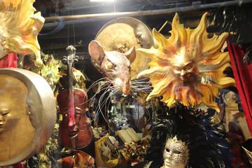 Beautiful Carnival Masks - Venice, Italy