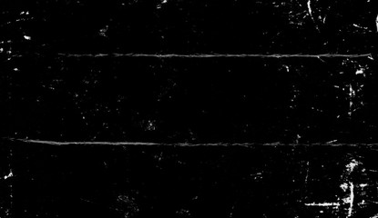Vintage scratched grunge overlays on isolated black background space for text