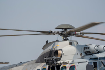 Air helicopter h225m .