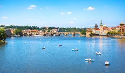 Fototapete - The Charles Bridge
