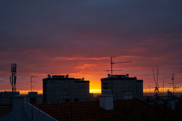 morning sunset