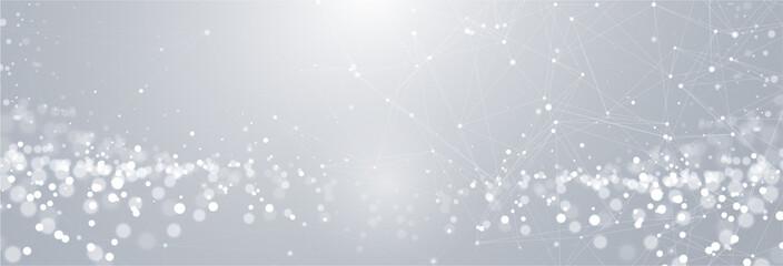 Netzwerk Technologie Hintergrund