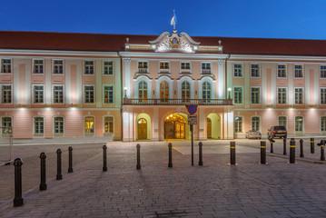 Building of Riigikogu. Tallinn, Estonia